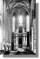 St. Jacobi, Innenansicht, Hauptchor, ca.1930
