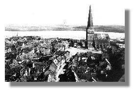 St.Petri von Osten um 1900